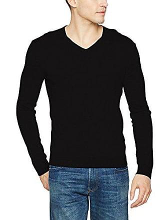 a uomo nero Maglione V a da maglione piccolo L collo Benetton nero s Fqpzdw