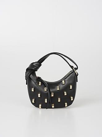 Unica Leather Mini Size Studded Bag Borbonese dWorCeBx