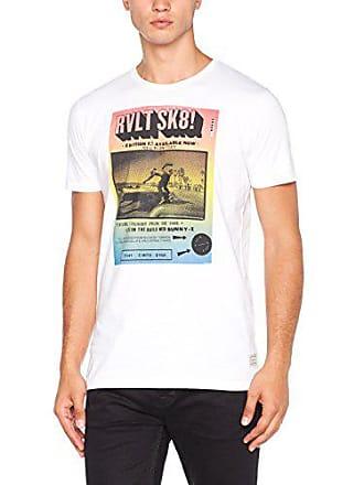 Print rvlt T Homme Blanc shirt large Tee Xx T Revolution p6Eqp