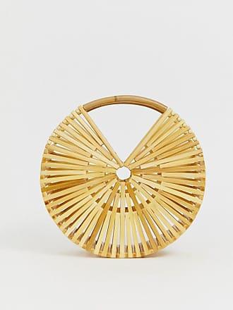 Diseño Asos Bolso De Circular Bambú Con Design jpLVGSUzMq