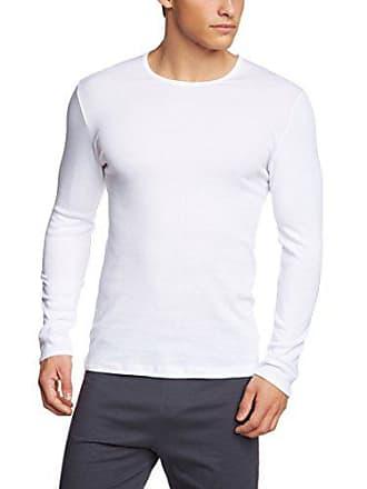 T weiss Langarm 1 1 Shirt Bianco 001 T Calida da shirt Uomo Cotton Large rq4BW1rwfS