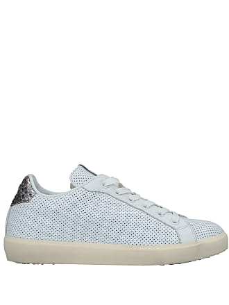 amp; Basses Tennis Leather Sneakers Crown Chaussures wS1XSqtA