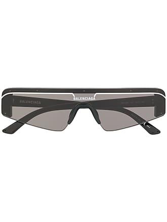 Occhiali Colore Da Sole Nero Rettangolari Balenciaga Ski Di T4qUd4
