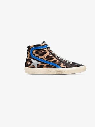 Sneakers High Goose Superstar Top Leather Ponyhair And Multicoloured Golden zgwP8P