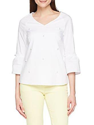 Comma Blanc 4634 Femme 19 Blouse 32 white 0100 81 804 vxqHgFrv