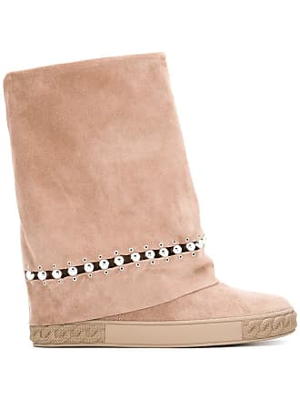 Casadei Roll Top Boots Tons Neutres rnr7qWTwB