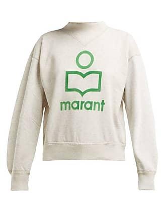 Coton Mélangé Marant Shirt En À Isabel Sweat wRWIFXv8qX