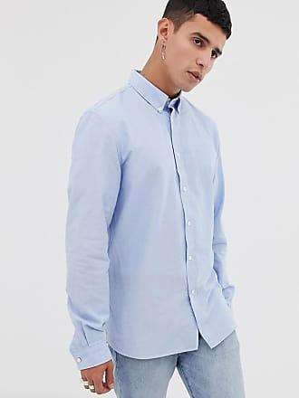 Blue Camicia Camicia Oxford On Lacoste Oxford wFx1Xx57
