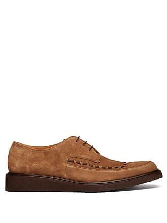O Sole Suede Mens OkeeffeBristol Shoes Brown Keeffe Raised Derby kuwPTXilOZ