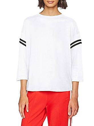 Tee Larga Mujer Para Mehrfarbig blk Urban Camiseta Manga De Classics Sleeve wht Striped L Small 00224 Ladies s 7AvwY