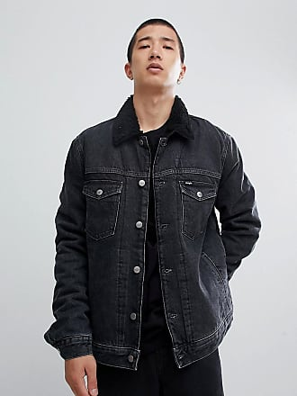 Stone Midnight Color Lining In Wrangler Jacket Borreguito With xqWn0aY