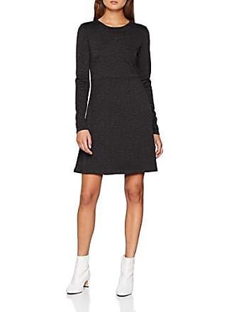 Pieces Gris Mujer 40 Noos Medium Ls Fabricante Dark Grey Para Del Dress Pcwonder Vestido talla Melange TqTSfU