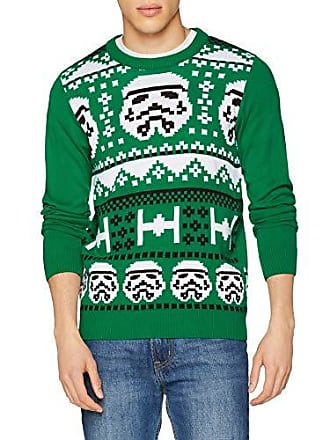 Knit Dc green Kni Stormtrooper Wars Christmas Star Vert Homme Comics Pull xxZY7UqwS