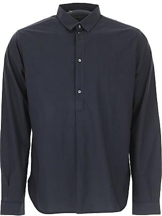 Algodon Hombre Dolce 2017 Outlet Gabbana Camisa Baratos En De Oscuro Rebajas 41 Azul amp; q4PqB