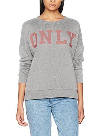 Ls Sweatshirt Swt Logo Onlbette Damen Only UPawIq