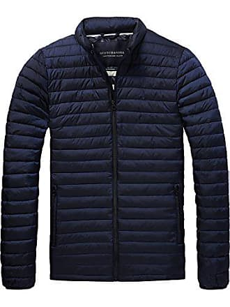 Blouson large Down Scotch 58 Fake Quilted X Jacket Soda night Bleu Simple amp; Homme qFw6S0F1