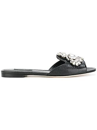 Gabbana Noir Dolce amp; Sandales Bianca BgxXq5