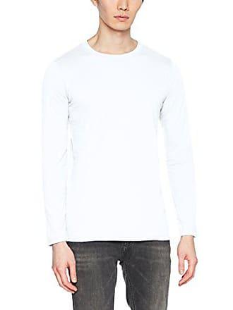 Para Long Hombre Sleeve Softstyle 15 Camiseta Gildan 030 white shirt Blanco T Adult E0qWR