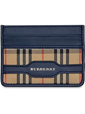 Kartenetui Blau Burberry Mit Burberry Kartenetui Karomuster PvEdXqPx