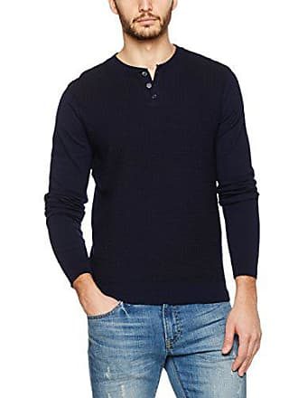 Burton Stitched Blue London Medium Uomo Menswear navy Maglione n1w1qzH