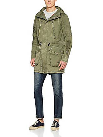 military Green Large Verde Hombre Merin 610 Tigha Parka Para YCqwZXWOx