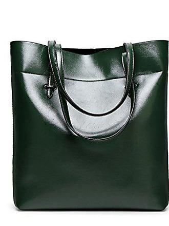 Bfmei Handtasche Tote onesize Fashion Schulter Bag darkgreen H6HRraxqw