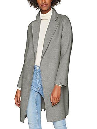 Para Htr talla Gris Mujer Xx Carmen 44 light Grey Abrigo Tommy large Del Wool Fabricante Coat 039 Hilfiger XORv4
