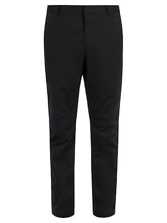 TrousersMens Mid Lanvin Rise Cotton Black dtshrCxQB