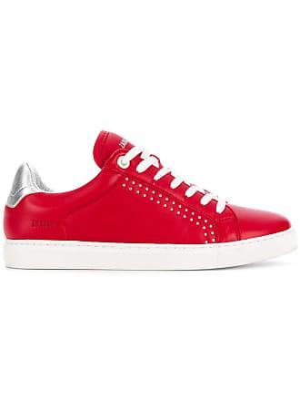 Rouge Sneakers Zadig Voltaire top Contrast Low amp; U0XUY