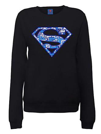 Ras Shirt Womens Superman Du Sweatshirt Sweat Comic Cou Dc Official Logo Col Comics nwF8qR