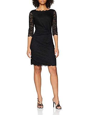 Mujer 19105 talla Del schwarz Negro Para 42 40 11000 Vestido Taifun Fabricante 381046 z5HpnIH