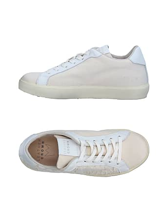 Tennis Chaussures amp; Basses Sneakers Crown Leather 8Fqapa