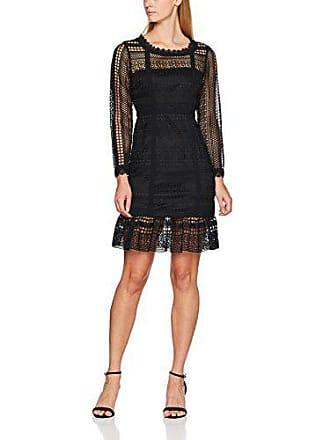 black Lace 40 Para Mujer Bk Panel Negro Vestido Gina Bacconi 5g0xOHnxv