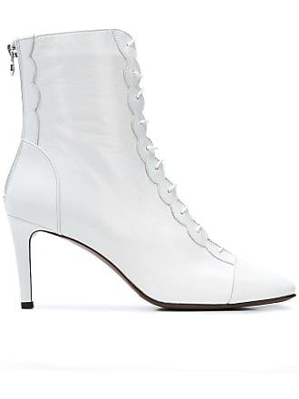 Blanc Boots Front L'autre Chose Zipped PtYIIq
