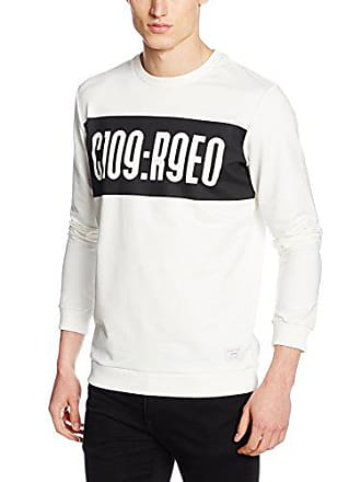 Blanc Crew Homme Sweat Jcoaron Shirt Neck Jones Jack blanc amp; qwA688