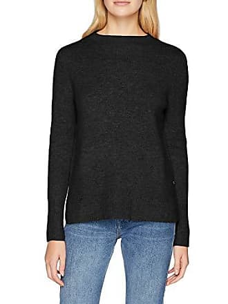 Tom shale Grey Hohem Pull Gris Denim 2620 Rundhals Medium Pullover Melange Mit Basic Femme Tailor rpvwqr