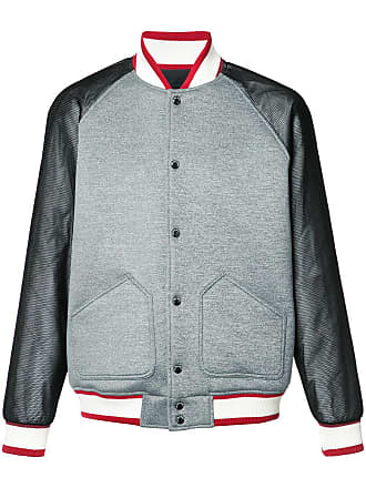 Manches Contrastantes À Bomber Gris Heard Rarely Mostly Seen Veste PTYw7RqnF