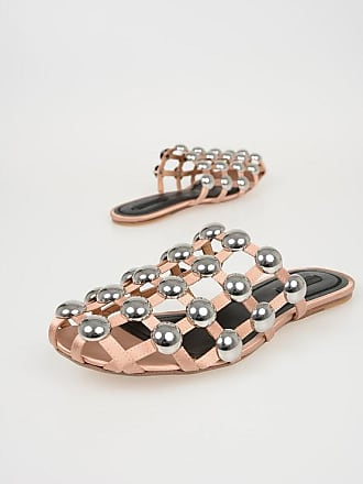Satin Mules Size Alexander Wang With 39 Amelia Studs tqxq6Fw5Y