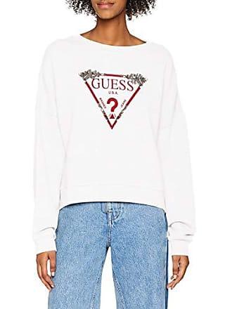 Sweat Shirt Blanc Sport A000 White Femme À W83q02k6oc0 Guess true Capuche Hwq6E5n7
