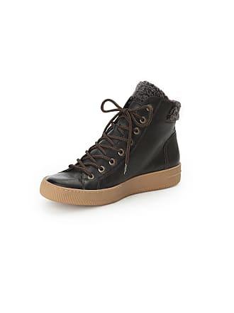 Nubuck Paul Green Les Cuir Noir En Sneakers BdCxoEQerW