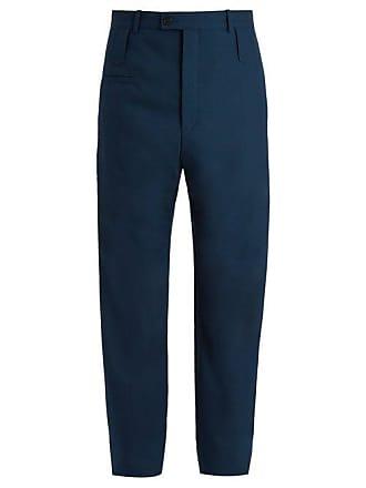 Haute Mélangée Pantalon Balenciaga Taille Laine En ZfxwTq84n