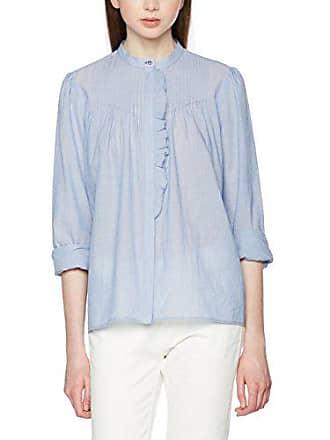 Blue Mujer lt Bluse White Azul 40 521 Ruffles Set ERwXF4xqE