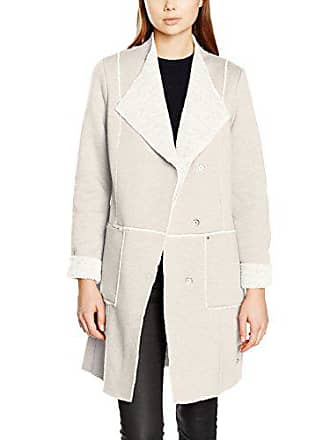 Ecru Tailor Femme linen Tom Cosy White Fake Coat 40 Shearling Manteau 0UUpqHdw