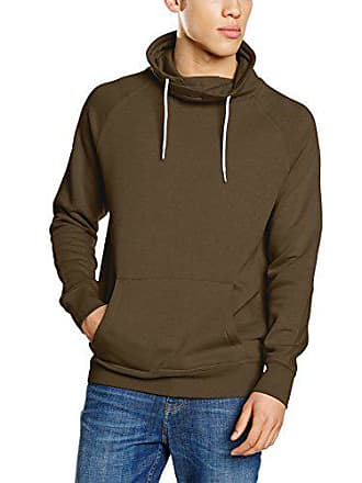 New Funnel Basic uomo Small Khaki per Felpa Crew Look OqgxZOR