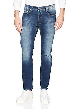 jeans blu scuro affusolati l32 uomo per Futureflex 01 Blau W40 vintage Pierre Cardin lyon Rz1xtIq