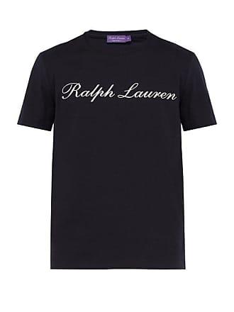 shirt Imprimé Logo Coton En Purple T Lauren Label à Ralph qSI1wv