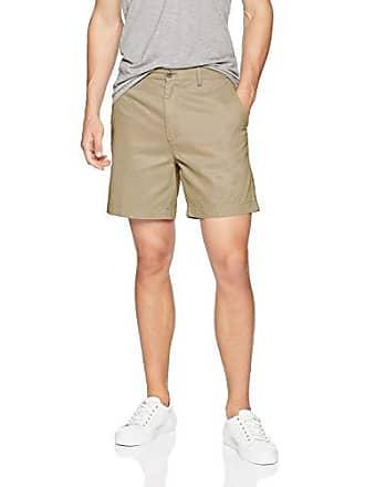 Amazon Kha khaki Slim Shorts fit W36 7 Essentials Braun r0zqr