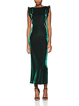 6003 Verde Del 42 Vestido Fabricante 44 green Moschino Love Kleid talla Mujer lurex Para w86g1Xxq