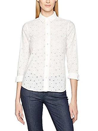 Broderie Fabricant Blanc white 36 Femme O2 62 Chemise Anglaise 110 Shirt Gant taille pxUg5qT