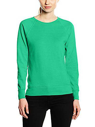 Of Loom kelly Femme Fruit Raglan Lightweight Sweat Green Shirt The Vert PBgqwd